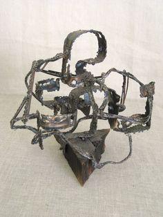 Brutalist Sculpture
