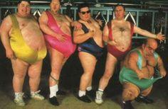 Crazy Fat Men!