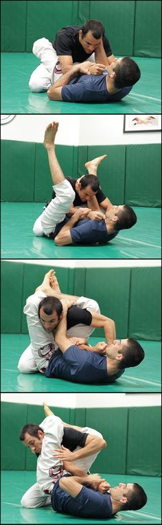 Most effective system of Self Defense the world has ever Known. Learn from Rener and Ryron Gracie. Armlock from the Guard- #selfdefense