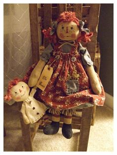 Prim Annie and her Dolly