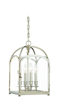 "Hudson Valley Lighting Oxford 10"" Candle Pendant"