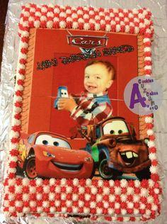 cars cake top