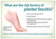 Here are some risk factors of Plantar Fasciitis. If you notice any signs of pain in your feet CompressionZ foot sleeves can help to treat Plantar Fasciitis.