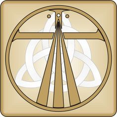 I am a Christian Druid-this symbol represents both paths