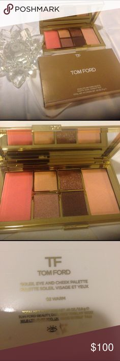 Tom ford soleil eye and cheek palette Tom Ford soleil eye and cheek palette 02 warm Tom Ford Makeup Eyeshadow