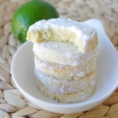 fondant citron vert