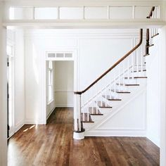 Find images and videos about home, design and house on We Heart It - the app to get lost in what you love. Home Design, Transom Windows, Up House, House Goals, White Walls, White Wood, Style At Home, Home Fashion, My Dream Home