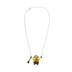 Hang a Minion around your neck with this necklace designed by Tatty Devine. | Minions Bello Yellow Collection | See Minions in theaters July 10th.