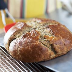 Flax Soda Bread From Better Homes and Gardens, ideas and improvement projects for your home and garden plus recipes and entertaining ideas.