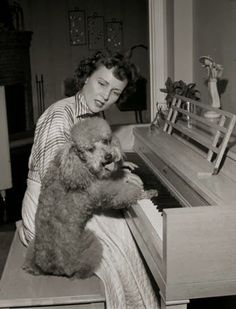 Betty White and her poodle friend what do know special about Betty?