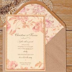 Invitación de boda Praga (eco)
