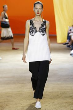 See the Celine spring/summer 2016 collection. Click through for full gallery at vogue.co.uk