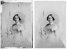 Repair Scratches and Tears from an Old Photo in Photoshop