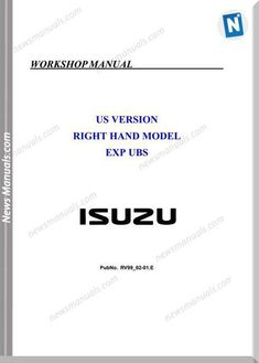 Isuzu Exp Ubs Workshop Manual Part 1 The Longest Ride Book, Go Set A Watchman, Make You Up, Electrical Wiring Diagram, Classic Video Games, Reality Of Life, Ubs, High School Students, Heavy Equipment