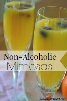 non alcoholic drinks