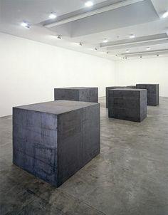 Richard Serra - 26 de octubre - 14 de Diciembre 1996 - Imágenes - Gagosian Gallery