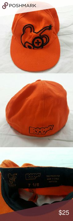 Boomy Bear Kids Baseball Cap Good Condition! Shows wear.  Size: 7 1/8  Please, review pics. Contact me if you have questions. Smoke/Pet free home. Boomy Bear Accessories Hats