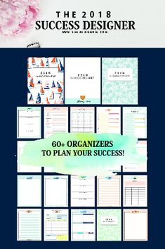 Ever since I became a teacher, I've been creating student organization printables. I've been creating checklists, lesson organizers, KWL charts, planners and more. Kids Planner, 2018 Planner, Lesson Planner, Student Planner, Free Planner, Planner Template, Planner Pages, Weekly Planner, Printable Planner