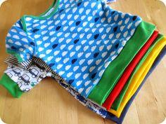 Tiene: DIY: romper wordt T-shirt Sewing For Kids, Baby Sewing, Diy For Kids, Diy Clothes Tutorial, Diy Clothes Refashion, Baby Shirts, Shirts For Girls, Diy Clothes Jackets, Diy Romper