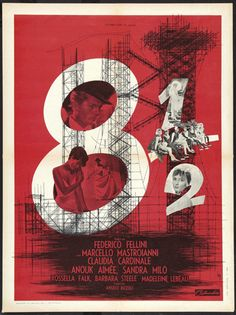 8½ (1963) Directed by Federico Fellini