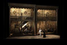 Don Pasquale from Theatre du Capitole. Production by Stéphane Roche. Sets by Bruno de Lavenère.