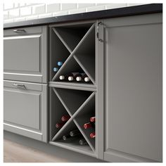 28 Finest Wall Oven Vent Wall Oven With Microwave Open Kitchen Cabinets, Kitchen Nook, Open Plan Kitchen, Kitchen Shelves, Kitchen Decor, Grey Ikea Kitchen, Gold Kitchen, Wine Shelves, Wine Storage