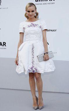 Fotos alfombra roja Gala amfAR 2012 en Cannes: Diane Kruger de Chanel
