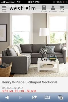 Possible sectional inspiration