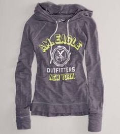 Signature Hoodie T- American Eagle. Best hoodies ever! American Eagle Hoodies, American Eagle Outfits, American Eagle Sweater, Cute Teen Outfits, Fall Outfits, One Direction Shirts, Tied T Shirt, Hollister Hoodie, Mens Outfitters