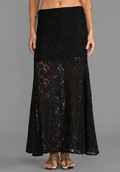 Frida Falda Skirt in Black -