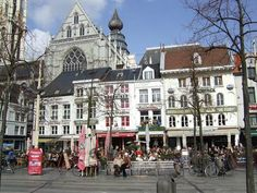 The Groenplaats, Antwerp, Belgium