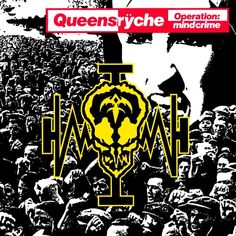 "Progressive Metal titans QUEENSRŸCHE released their iconic album ""Operation: Mindcrime"" 31 years ago today. The album has fan favorites like ""I Don't Believe in Love"" and ""Eyes of a Stranger"". Which is your favorite track on the album? Lps, Hard Rock, Metallica, Heavy Metal, Rock And Roll, Geoff Tate, Musica Disco, Concept Album, Operation"
