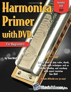 Harmonica Primer Book for Beginners with DVD