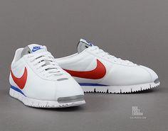 Nike Cortez NM QS 'White/Gym Red-Metallic Silver-Gym Royal'