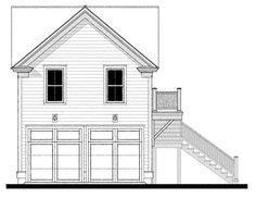 09310 garage House Plan Design from Allison Ramsey Architects Guest House Plans, Cabin House Plans, Garage House Plans, Garage Apartment Plans, Garage Apartments, Cabin Homes, Cottage Homes, Lowcountry House Plans, Detached Garage Designs