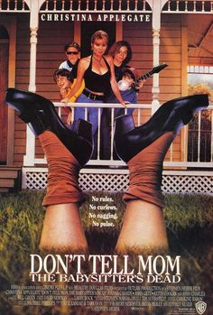 Directed by Stephen Herek. With Christina Applegate, Joanna Cassidy, John Getz, Josh Charles. Five siblings are left alone all summer when their mom leaves town and the evil babysitter bites the dust. Josh Charles, Movies To Watch, Good Movies, Christina Applegate, Imdb Movies, 90s Movies, Scary Movies, Tv Series Online, Movies Online