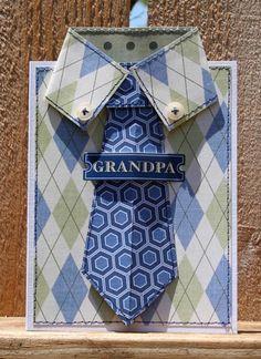 Grandpa Card. FREE PROJECT DOWNLOAD!