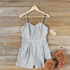 Chino Hills Romper... Casual yet chic. www.spool72.com