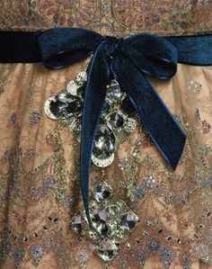 Christian Lacroix Haute Couture F/W 2007. I am a sucker for details, and these are sparkly details too! Fabulous!!
