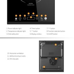 Portable Induction Cooktop iSiLER Sensor Touch Electric Induction Cooker Cooktop with Kids Safety Lock Countertop Burner Suitable for Cast Iron Stainless Steel Cookware ** Learn more by visiting the image link. (This is an affiliate link) Splatter Guard, Electric Cooktop, Child Safety Locks, Specialty Appliances, Touch, Cooker, Toaster Ovens, Kids Safety, Mixers