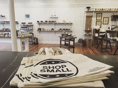 Thank you for shopping local! #shopsmall by coldspringapothecary