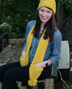 The Whimsey What's better than a super warm and adorable scarf? A super warm and adorable scarf with pockets! $69.99