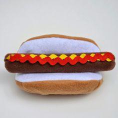 ikat bag: Hot Dog!