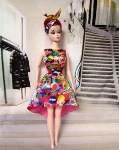 POP Art Barbie dress