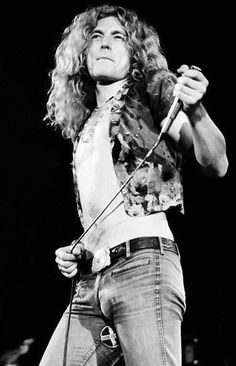 Robert Plant -- Kudos to the dude who can wear a blouse and still look cool.