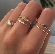Shop our latest gemstone rings, necklaces and more. Modern yet timeless fine jewelry for the everyday. Nail Jewelry, Dainty Jewelry, Cute Jewelry, Gold Jewelry, Jewelry Rings, Jewelry Accessories, Luxury Jewelry, Women Jewelry, Greek Jewelry
