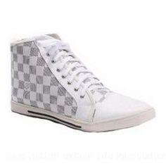 Louis Vuitton-Sneaker Punchy Boot Damier Canvas White