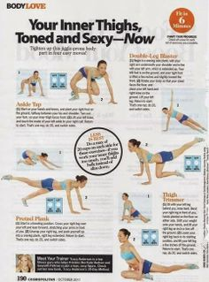 6 Minute Inner Thigh Workout