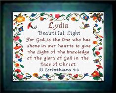 Devon - Name Blessings Personalized Cross Stitch Design from Joyful Expressions William Name, Watch And Pray, Names With Meaning, Marie Name Meaning, Cross Stitch Designs, Stitch Patterns, Embroidery Patterns, Gifts For Family, Custom Framing