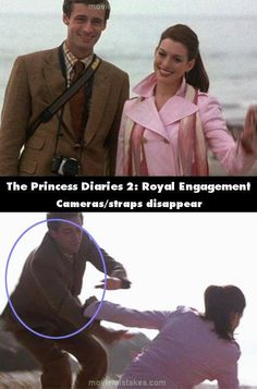 The Princess Diaries 2: Royal Engagement mistake picture